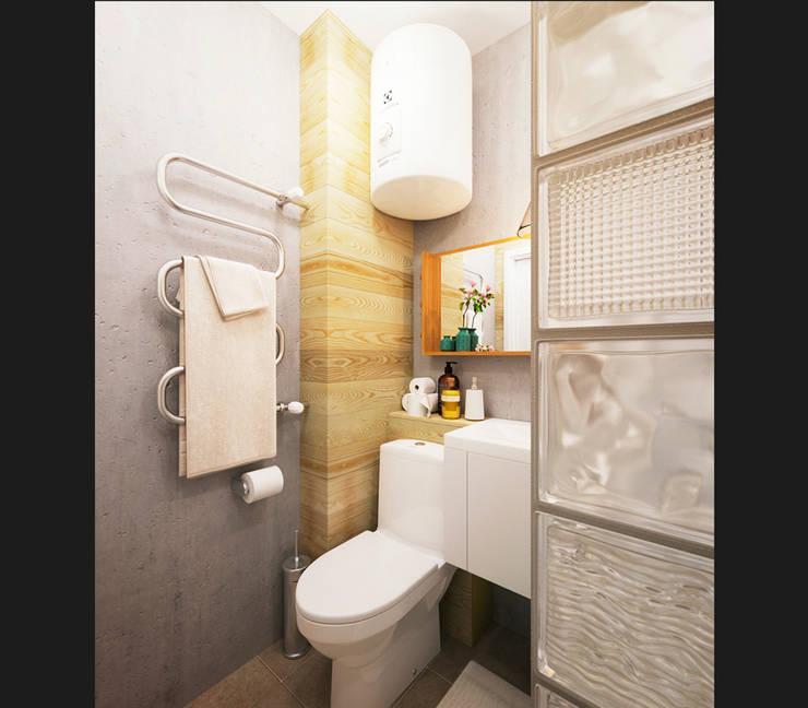 Badkamer door IK-architects