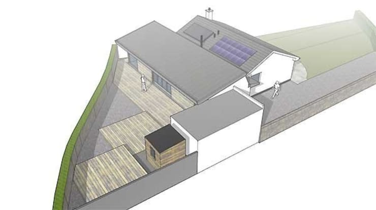 Mayon Green, Sennen:  Houses by Hurditch Architecture