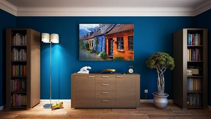 Blau: Wände U0026 Boden Von Cocooninberlin