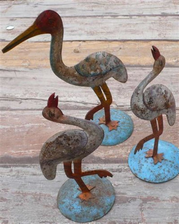 Tin Birds:  Artwork by Vintage Archive