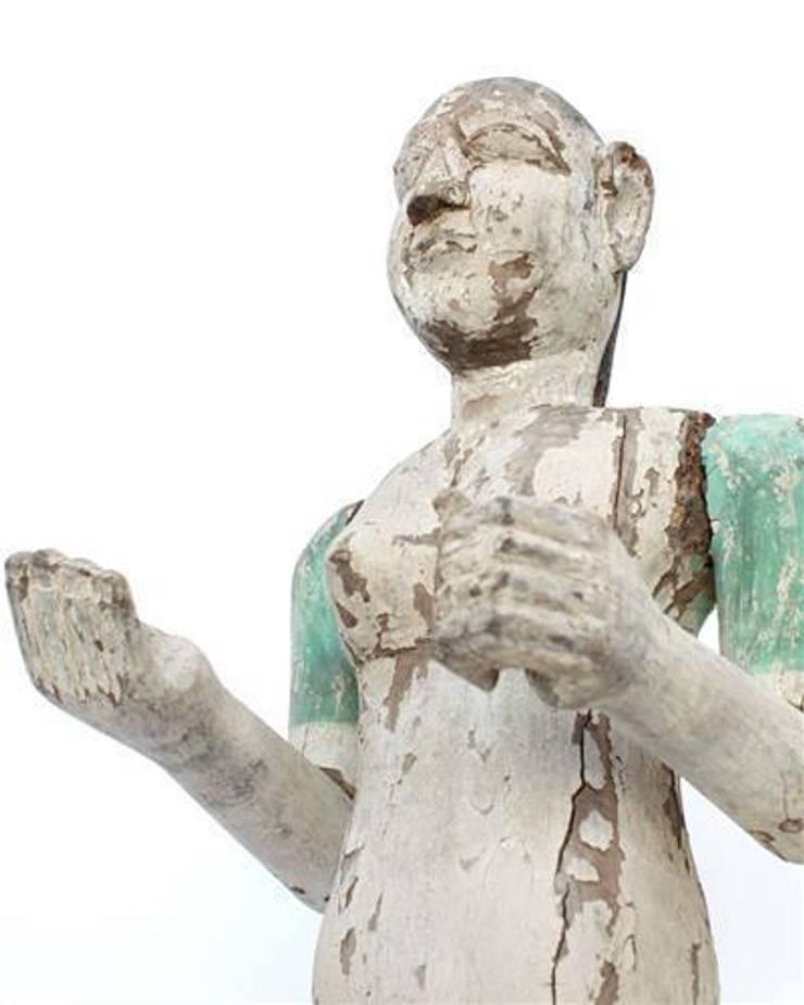 Carved Indian Temple God:  Artwork by Vintage Archive