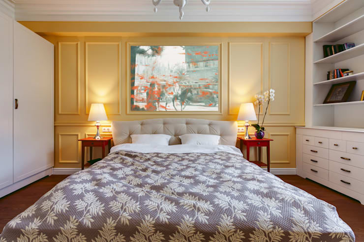 eclectic Bedroom by U-Style design studio
