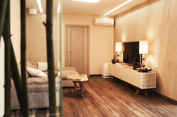 Квартира: Гостиная в . Автор – 8dis design studio