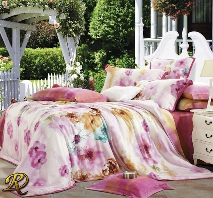 Maroni Organic Tencel (100% wood pulp):  Bedroom by Roxyma Dream UK