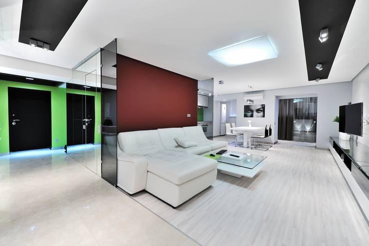 Квартира для отдыха: Гостиная в . Автор – ontop-design