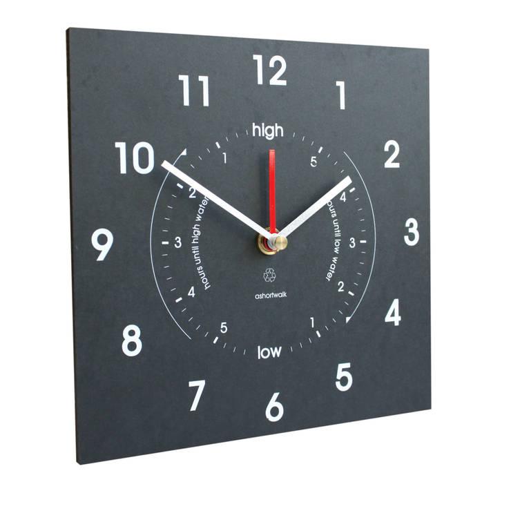 Eco Time & Tide Clock:  Living room by ashortwalk