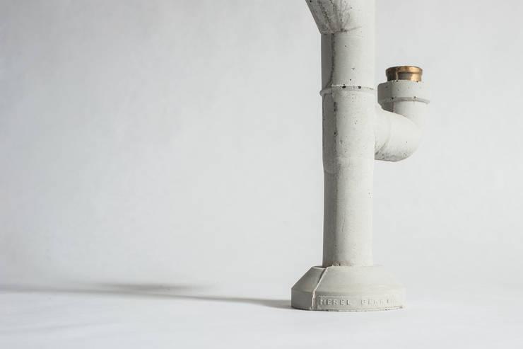 Mr Fahrenheit:  Woonkamer door Merel Bekking - Design