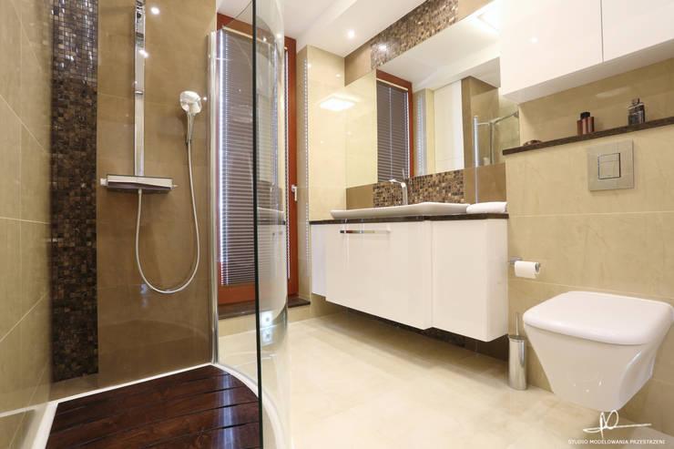 Łazienka: styl , w kategorii Łazienka zaprojektowany przez Studio Modelowania Przestrzeni,Nowoczesny