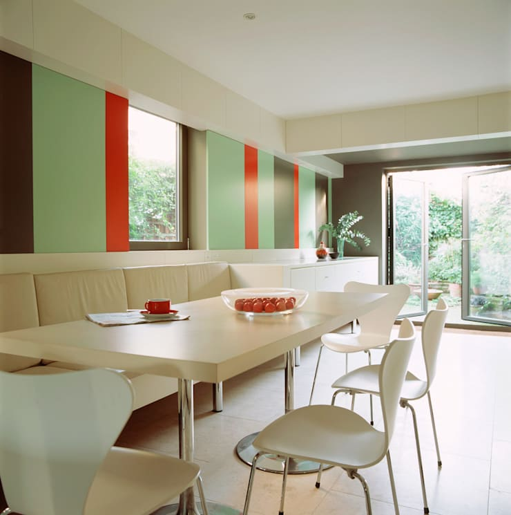 Highgate House - 3:  Kitchen by Jonathan Clark Architects