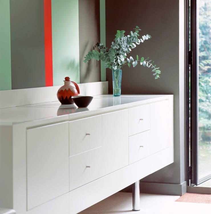 Highgate House - 6:  Kitchen by Jonathan Clark Architects