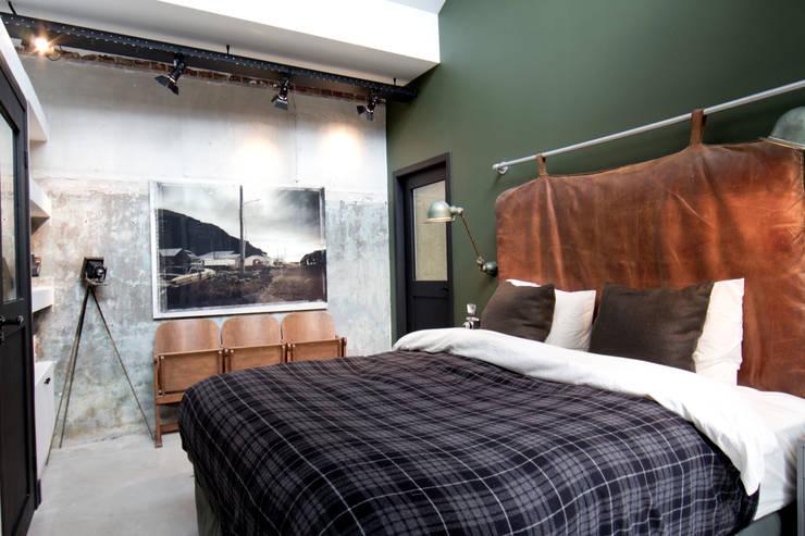 Projekty,  Sypialnia zaprojektowane przez BRICKS Studio