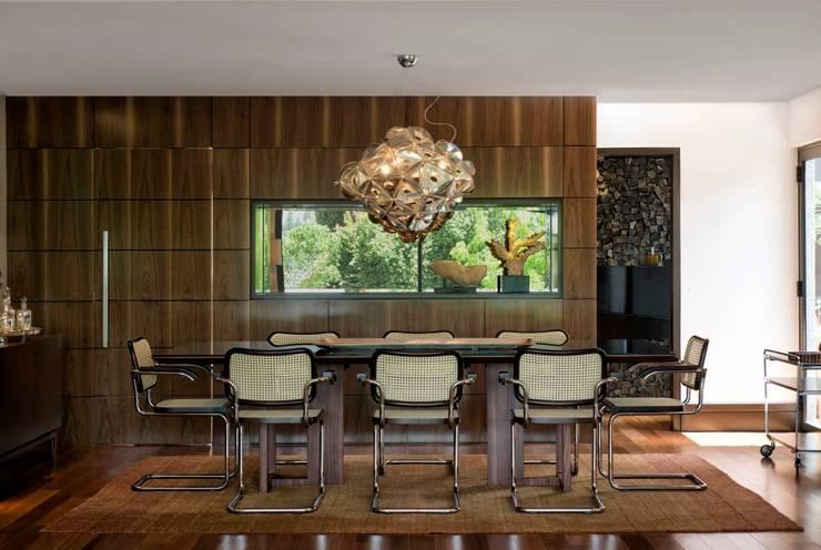 Comedores de estilo  por Elmor Arquitetura