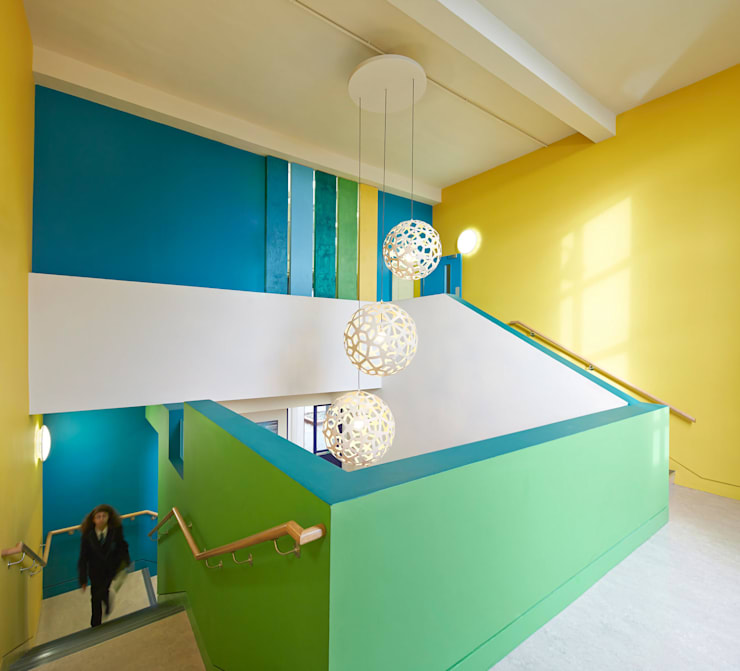 Rivers Academy West London - 7:  Schools by Jonathan Clark Architects