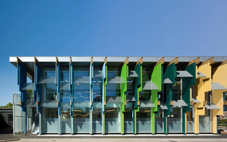 Longford Community School - New Library - 1:  Schools by Jonathan Clark Architects
