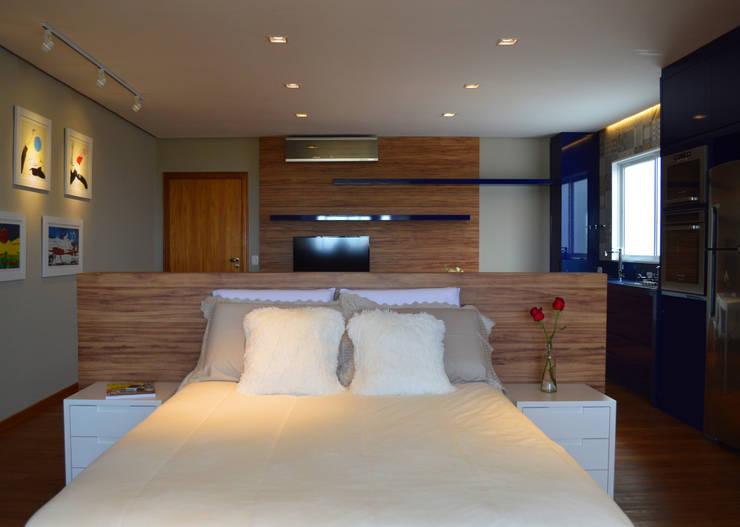 غرفة نوم تنفيذ Boa Arquitetura