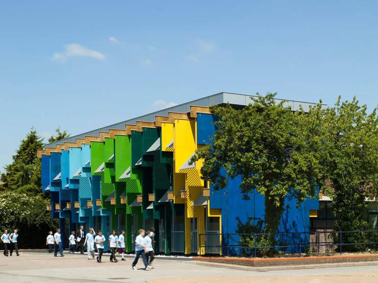 Longford Community School - New Library - 4:  Schools by Jonathan Clark Architects