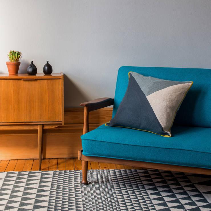 Albers Cushion:  Living room by Niki Jones