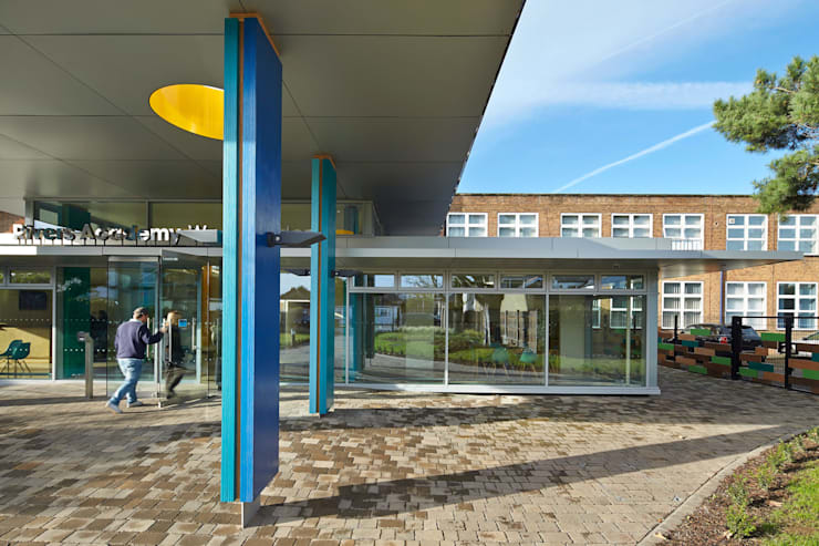 Rivers Academy West London - 6:  Schools by Jonathan Clark Architects