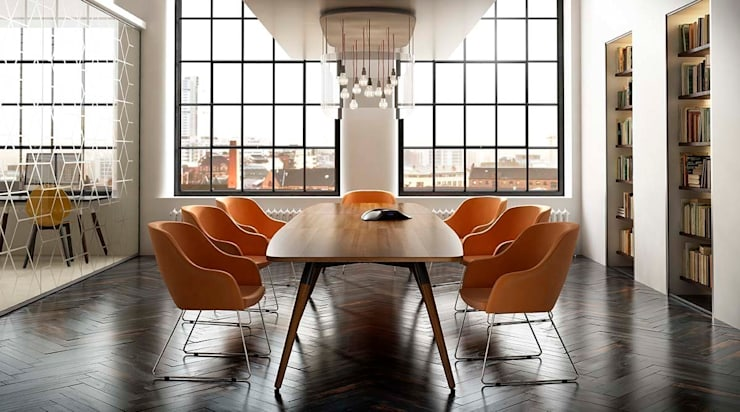 Moment Boardroom :  Office spaces & stores  by Gresham Office Furniture