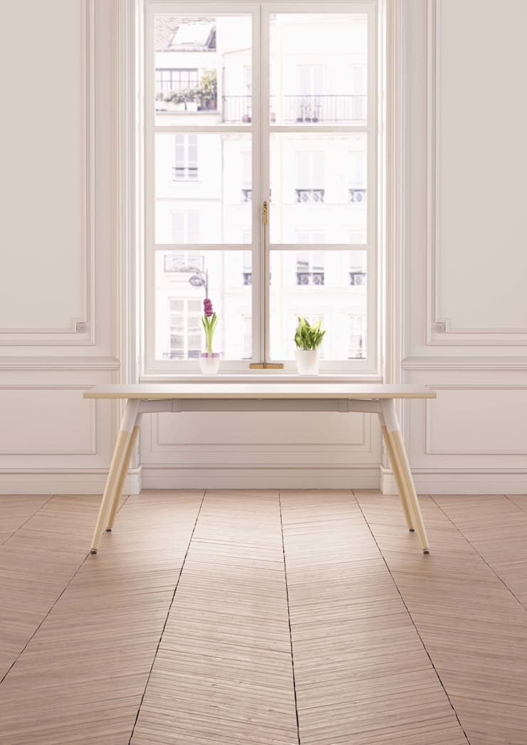 Moment Lifestyle:  Dining room by Gresham Office Furniture