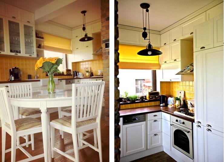 COLoR of NyAsA: styl , w kategorii Kuchnia zaprojektowany przez Cobo Design