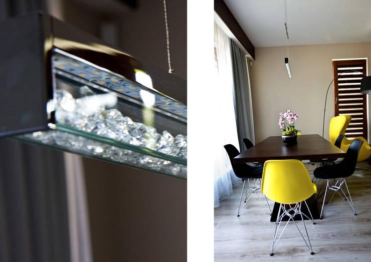 Caffe Latte: styl , w kategorii Jadalnia zaprojektowany przez Cobo Design,Nowoczesny