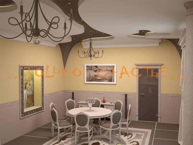 дизайн интерьера: Гостиная в . Автор – Бюро дизайна 'Только счастье...'