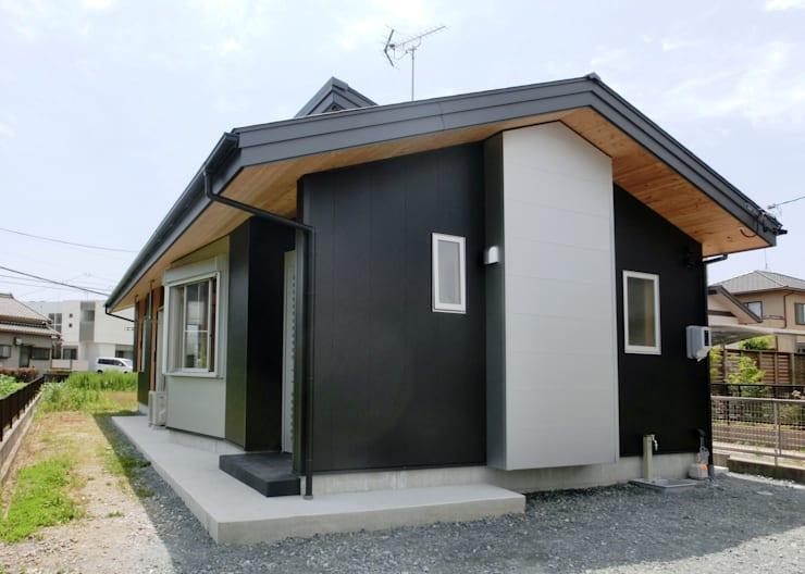 Дома в . Автор – 氏原求建築設計工房