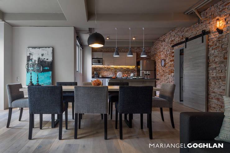 Projekty,  Jadalnia zaprojektowane przez MARIANGEL COGHLAN