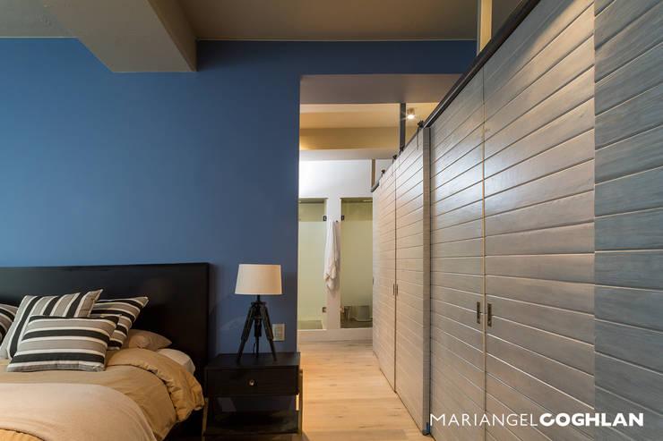 industrial Bedroom by MARIANGEL COGHLAN
