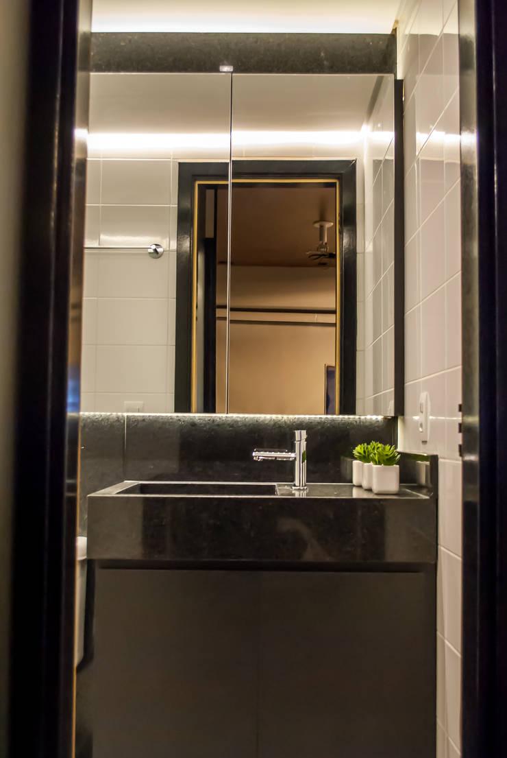 Banheiro: Banheiros  por Studio Gorski Arquitetura