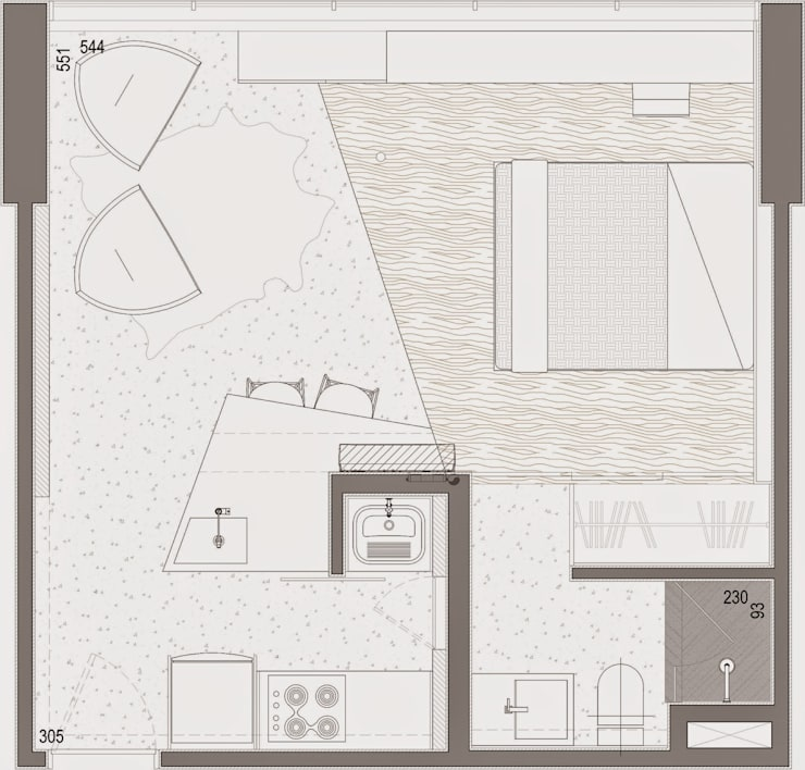 Studio2608:   por Studio Gorski Arquitetura