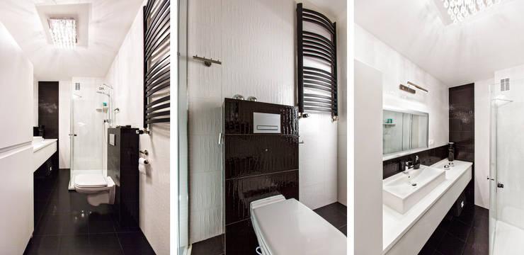 B & W: styl , w kategorii Łazienka zaprojektowany przez Cobo Design