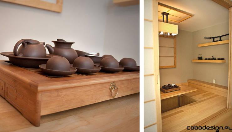 Asian Corner: styl , w kategorii Jadalnia zaprojektowany przez Cobo Design,Azjatycki