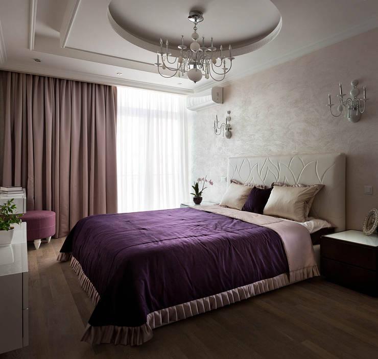 Спальни в . Автор – U-Style design studio,