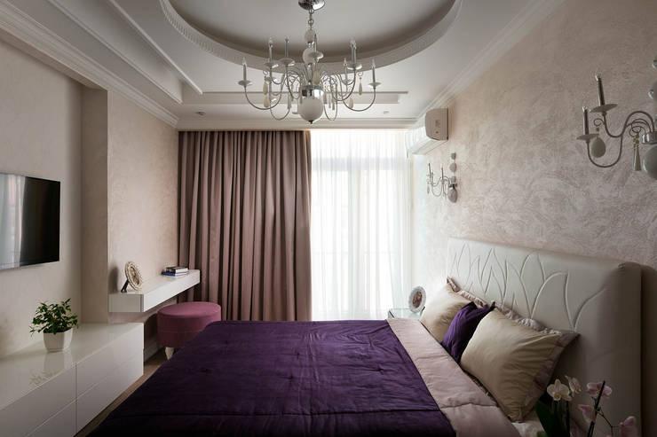 Projekty,  Sypialnia zaprojektowane przez U-Style design studio