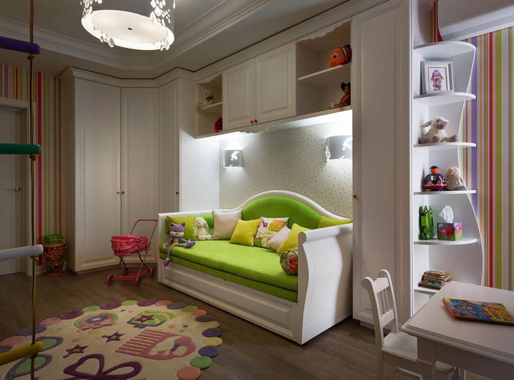 Детские комнаты в . Автор – U-Style design studio,