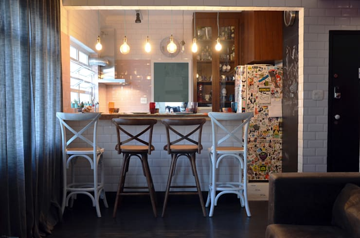 Cocina de estilo  de Mmaverick Arquitetura