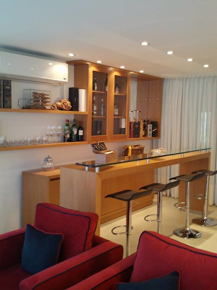 Arquitectura de interiores: Livings y Comedores:  de estilo  por rl.decoarq,Moderno