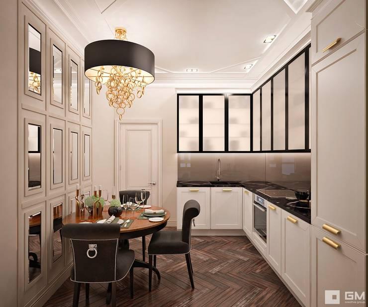Дизайн интерьера 2-х комнатной квартиры : Кухни в . Автор – GM-interior,