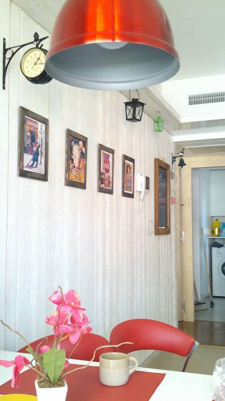 Arquitectura de interiores: Livings y Comedores: Paredes y pisos de estilo moderno por rl.decoarq