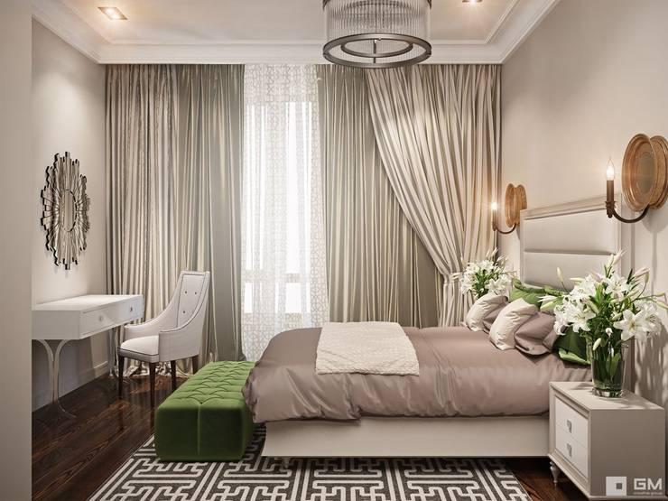 Дизайн интерьера 2-х комнатной квартиры : Спальни в . Автор – GM-interior,