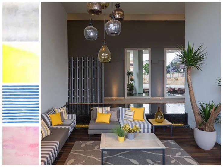 Novedades 2015: Salas de estilo  por MARIANGEL COGHLAN