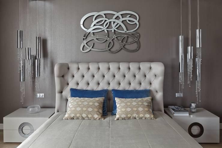 Непридуманная история: Спальни в . Автор – D&A INTERIORS