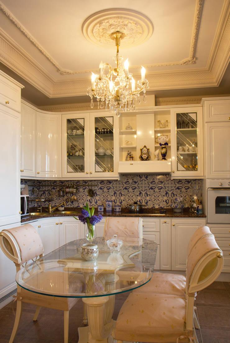 Кухня.:  в . Автор – архитектор Виктория Тажетдинова