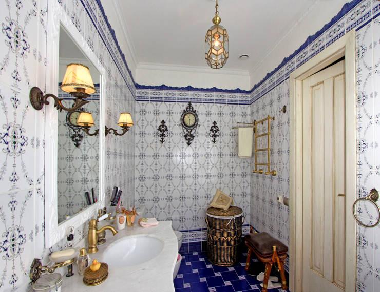 Ванная.:  в . Автор – архитектор Виктория Тажетдинова