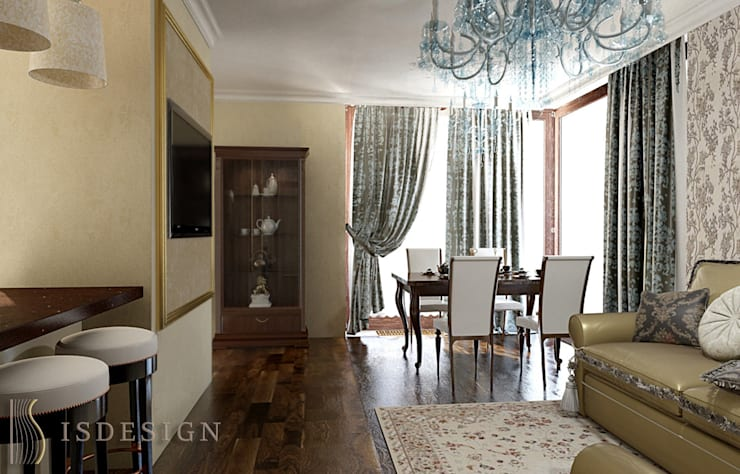 Гостиная: Гостиная в . Автор – ISDesign group s.r.o.