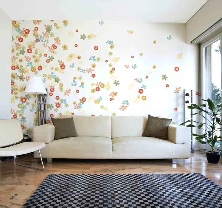 꽃송이가: angelkk의  벽 & 바닥