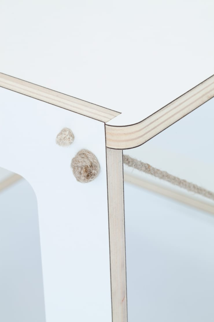Detail Chair :  Studeerkamer/kantoor door Studio Toon Welling