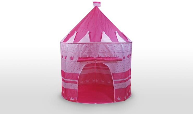 2117P CASITA INFANTIL POP UP ROSA: Habitaciones infantiles de estilo  de JOCCA - Qualimax International S.L.